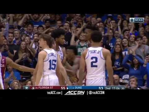 Florida State vs Duke College Basketball Condensed Game 2017