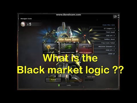 how does the black market in crossfire work (part 2)