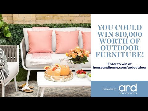 You Could Win $10,000 in Outdoor Furniture - You Could Win $10,000 In Outdoor Furniture - YouTube