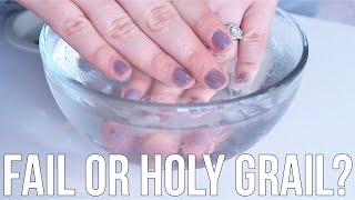 Beauty Hacks: Fail or Holy Grail? ♥ Drying Nails in Cold Water | Ellko