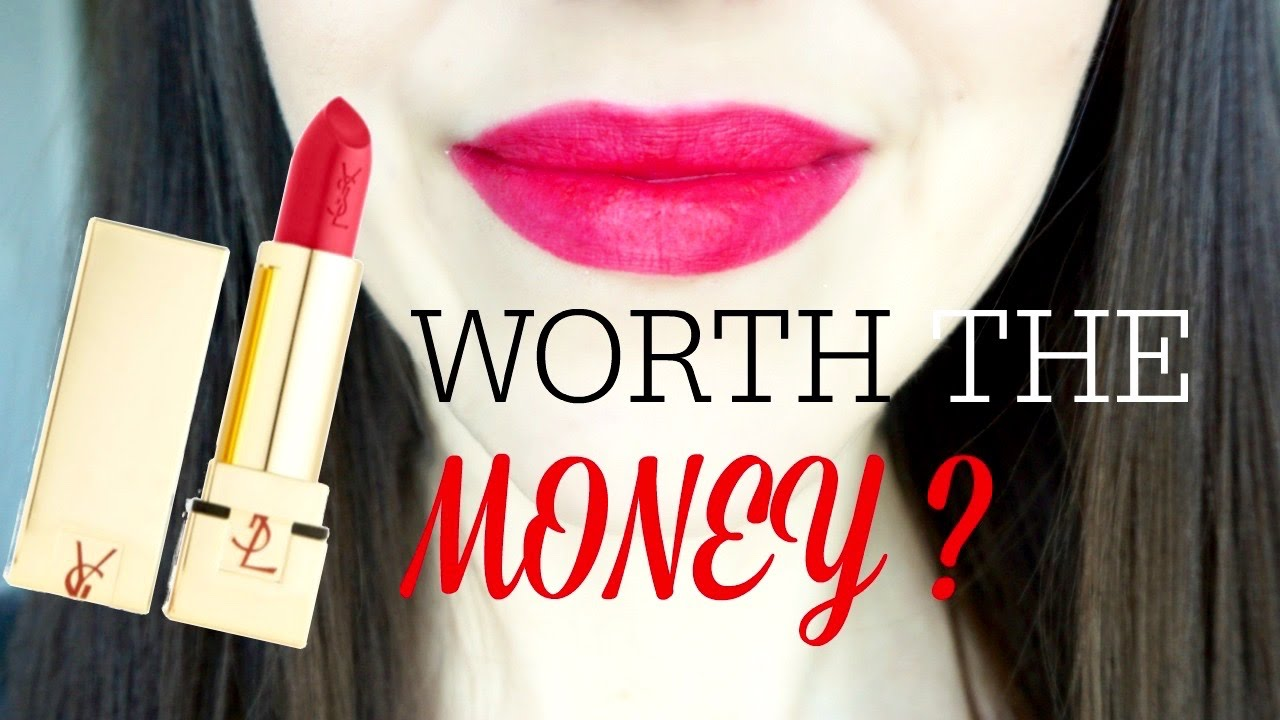 Worth The Money Ysl Rouge Pur Couture Lipsticks Review