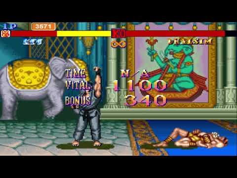 Street Fighter II Scratch Version Gameplay
