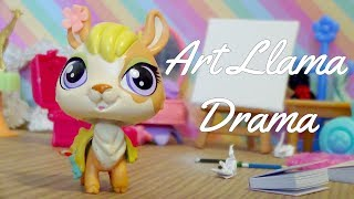 Dil is a very artistic llama, so when there's a local art contest s...