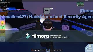 Homeland Security Agent(ROBLOX)