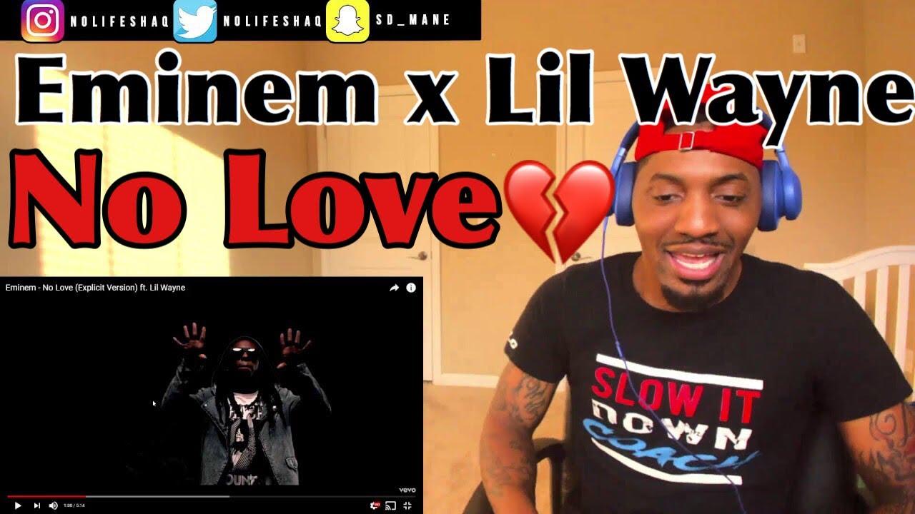 Download Eminem - No Love (Explicit Version) ft. Lil Wayne | REACTION