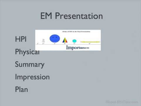 How to present in the Emergency Department (Part 2)