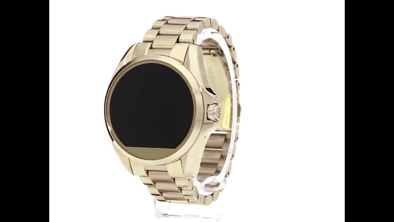 Relógio Michael Kors Access Touch Digital Dourado MKT5001 - YouTube e9877ca55c