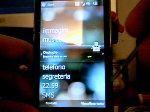 Htc Touch pro2 change visual interface