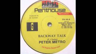 Peter Metro - Backway Talk