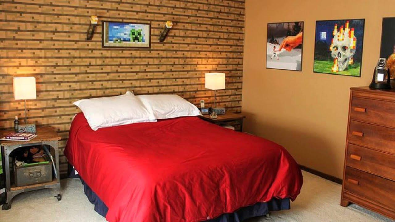 minecraft bedroom real life