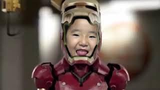 Help iron man! 수지의 아이언맨 히어로 변신놀이 친구 도와주기 Suji Pretend Play with Hero transformation play
