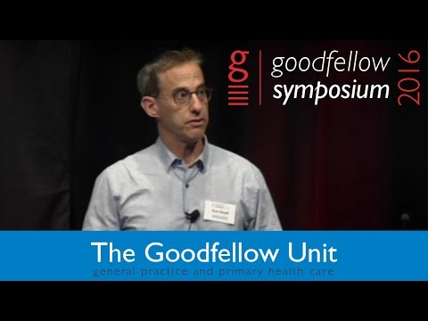 Goodfellow Unit Symposium 2016 - Rob Shieff - Managing side effects of antidepressant medication