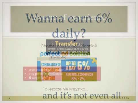 Perfect Ad Solution earn 6% daily and get refback!