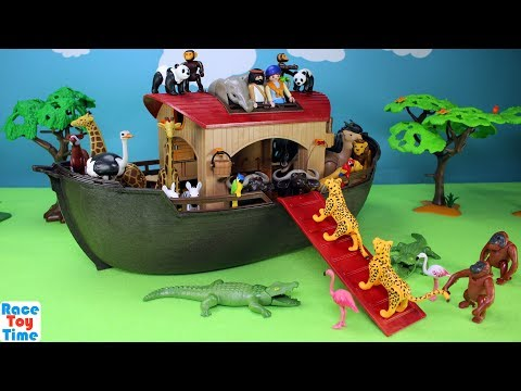 Thumbnail: Playmobil Animals Ark Playset Build and Play - Fun Toys For Kids