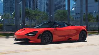 orange rush mclaren 720s spider
