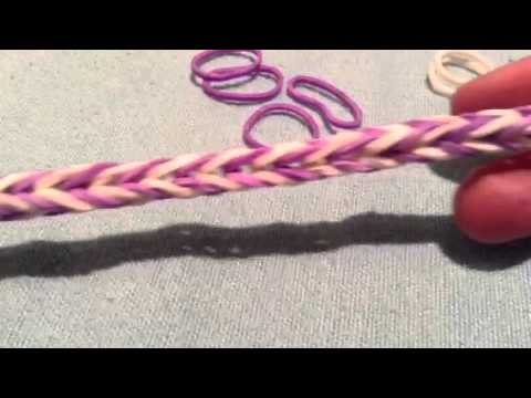How To Make A Fishtail Rubber Band Bracelet Without Loom