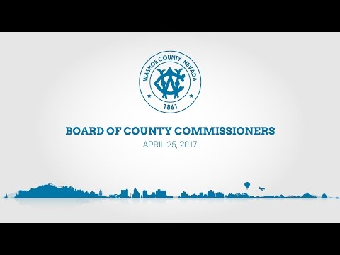 Board of County Commissioners | April 25, 2017