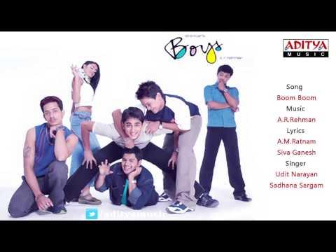 Boys Telugu Movie | Boom Boom Full Song | A.R.Rehman