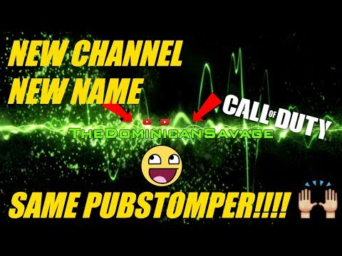 NEW CHANNEL, NEW NAME, SAME PUBSTOMPER!!! CALL OF DUTY BLACK OPS 4 GAMEPLAY!!