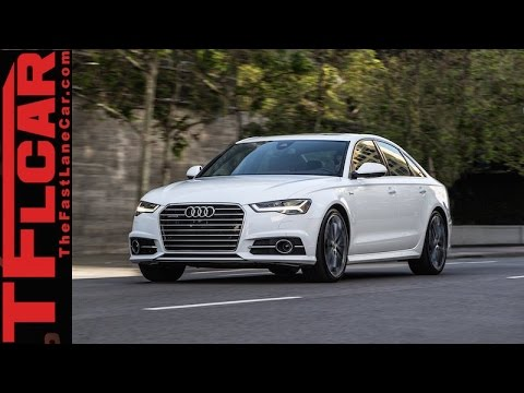 2016 Audi A6 Review: Fuel Efficient, Fun & Fast?