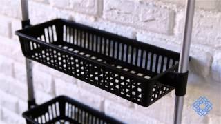 Organize It All Neu Home Basic Overdoor Six Basket Unit - Bellacor
