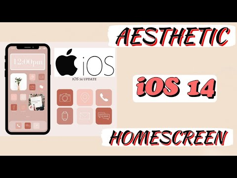 IOS 14 IPhone Customization + Organization Tips/tricks!  MUST DO! || Aesthetics With Me