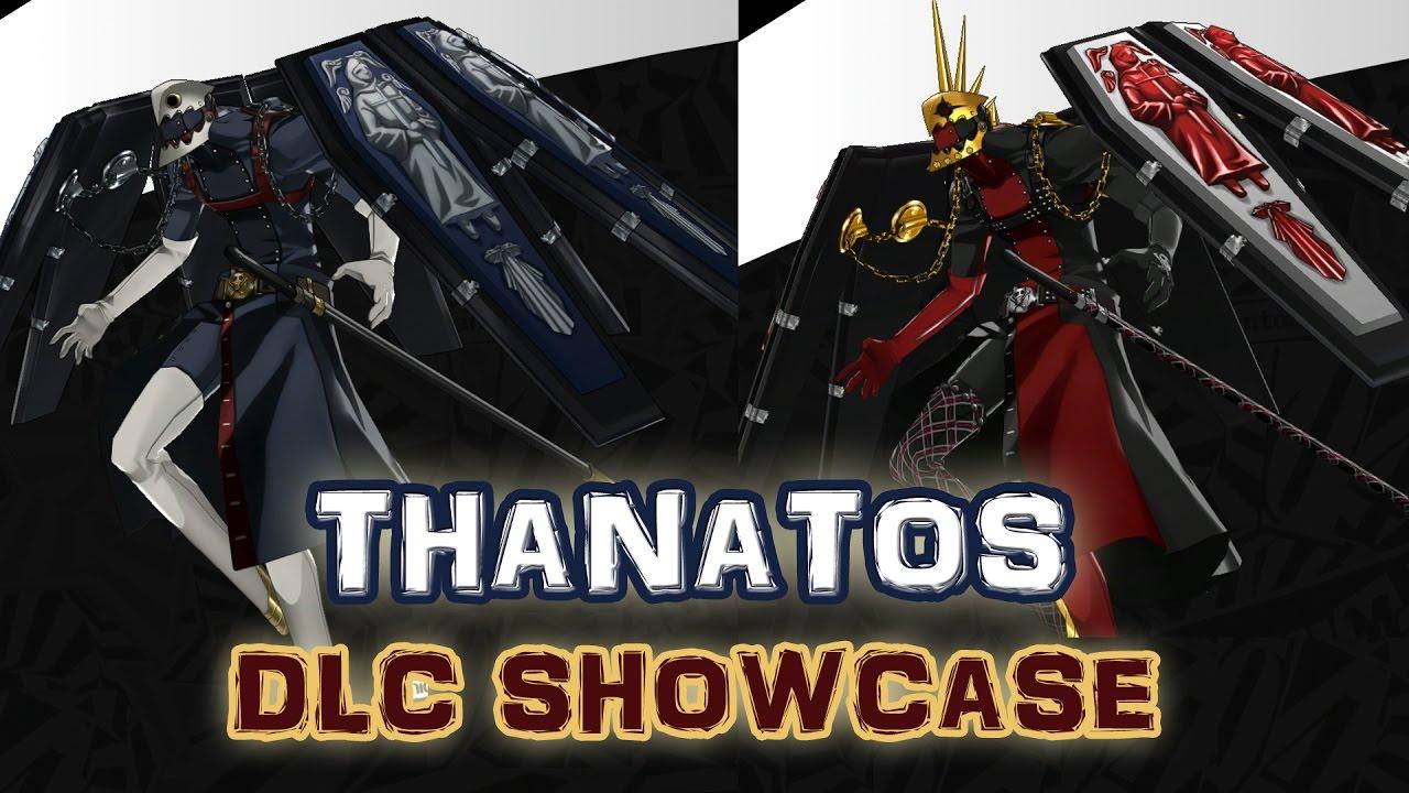 Persona 5 Thanatos Thanatos Picaro Dlc Persona Showcase