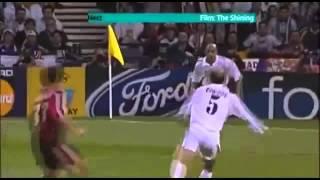 Zinedine Zidane Amazing goal vs Bayer Leverkusen