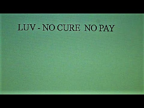 Luv' - No Cure No Pay (Maxi Version)(Maxi Edit.)