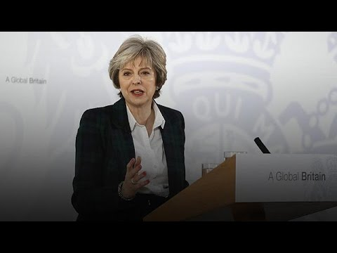 Brexit: 'UK to quit single market and look beyond Europe' - Theresa May
