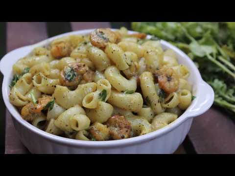 Easy And Creamy Prawn Pasta