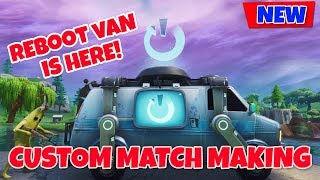 *NEW* REBOOT VAN COMING SOON- CUSTOM MATCHMAKING WINNER GET A RAID (FORTNITE EUROPE SERVERS)