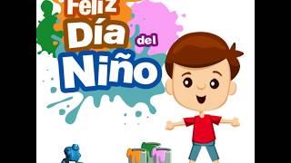 feliz dia del niño    dia del niño   regalo dia del niño   postal dia del niño    walking animacion