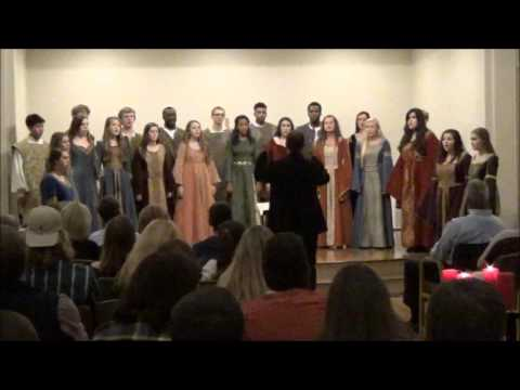 Madrigal Singers from Grimsley High School