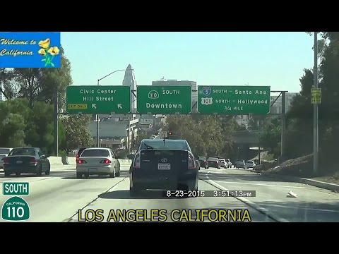 Sacramento CA to Los Angeles CA 2015 HD