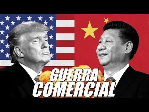 GUERRA COMERCIAL EEUU y CHINA 🇺🇸 🇨🇳
