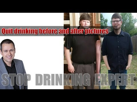 Quit Drinking Before And After Pictures: How To Stop Drinking
