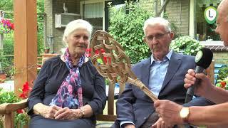 Echtpaar van Boven van de Weg 60 jaar getrouwd