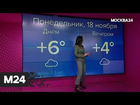 """""""Погода"""": какая погода ожидает москвичей - Москва 24"""