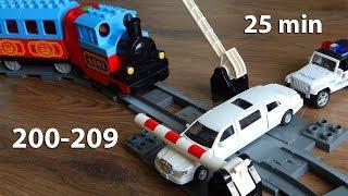 Мультики про машинки все серии 201-209 Город Машинок Мультфильмы для детей видео mirglory