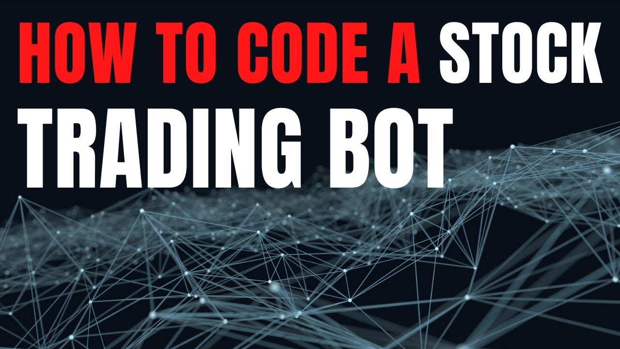 stock trading bot python