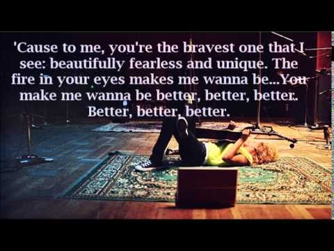 The Bravest One (Live) - Tori Kelly (Lyrics)