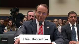 EXPLOSIVE HEARING: Congressman Jim Jordan Grills Rod Rosenstein