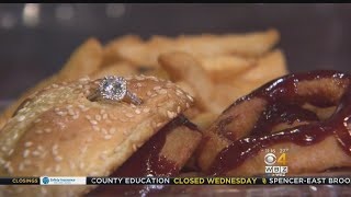 Restaurant Offers $3,000 Burger With Engagement Ring For Valentine's Day