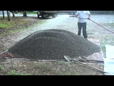 How Much Is A Ton Of Gravel >> Gravel-Lok - How to clean gravel - YouTube