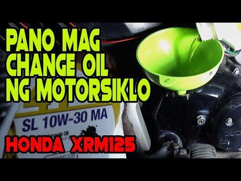 Pano mag change oil ng motor | Honda XRM125