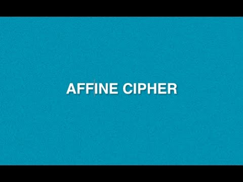 Affine Cipher : Type of Encryption Decryption Method | Mono-alphabetic Substitution Cryptography