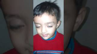 Indian small boy  Indian little boy makes animals sound