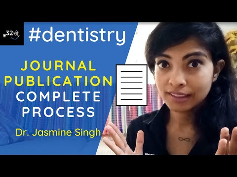 HOW to PUBLISH your FIRST RESEARCH PAPER? DENTAL RESEARCH ARTICLE WRITING By Dr. Jasmine Singh