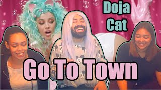 Doja Cat - Go To Town (Official Video) | Reaction | Smoke Sesh